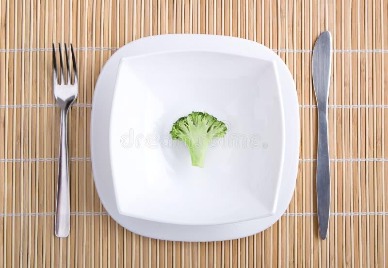 Bróculi del apetito foto de archivo libre de regalías