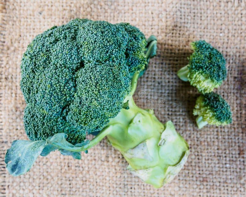 Bróculi fresco verde fotos de archivo libres de regalías