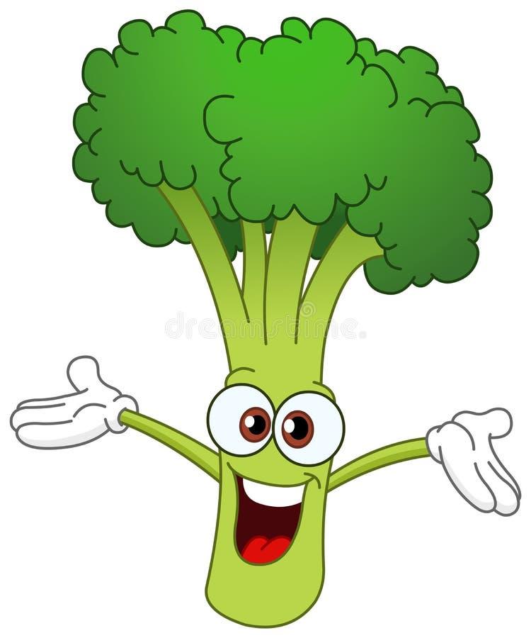 Bróculos ilustração stock