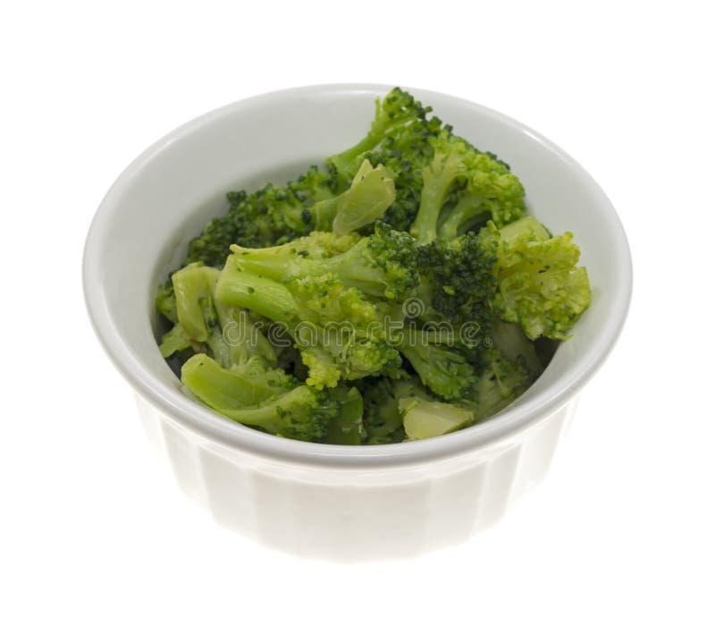 Bróculos pequenos do serviço imagens de stock royalty free