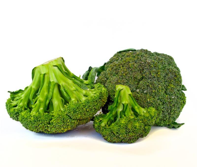 Bróculos verdes frescos imagens de stock royalty free