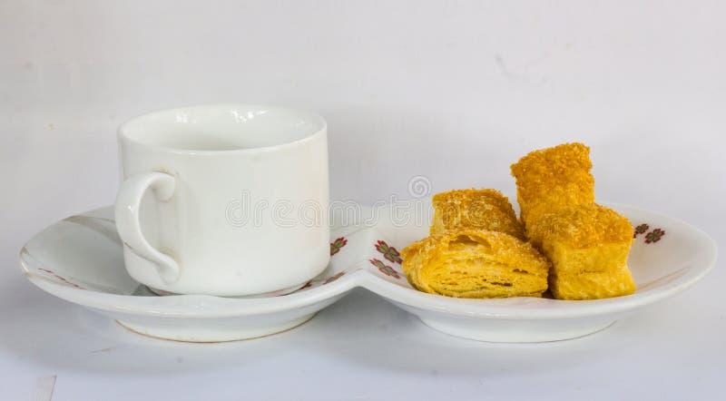Bröd är frukosten in i morse arkivbilder
