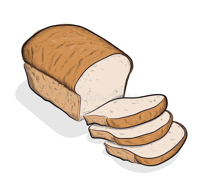 Bröd vektor illustrationer