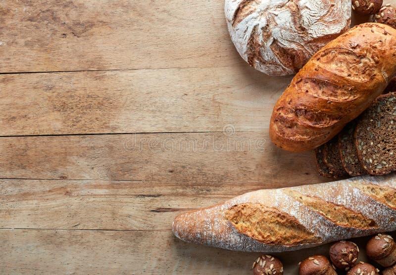 bröd frigör gluten arkivfoto