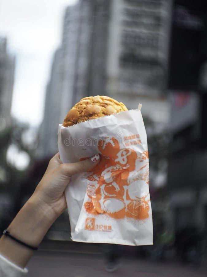 Bröd i stad! royaltyfria bilder
