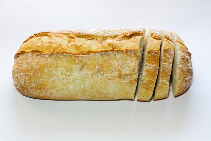 Bröd med skivor royaltyfri fotografi