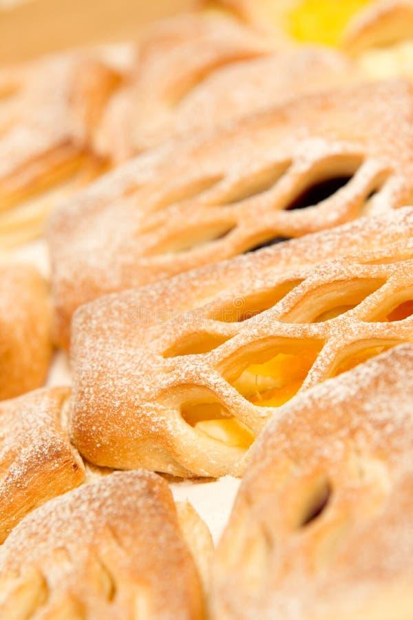 bröd pudrad sockersötsak royaltyfri fotografi