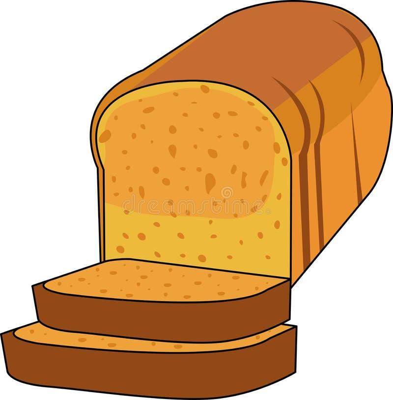 bröd släntrar stock illustrationer