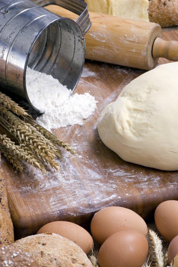 bröd som 013 gör serie arkivfoton