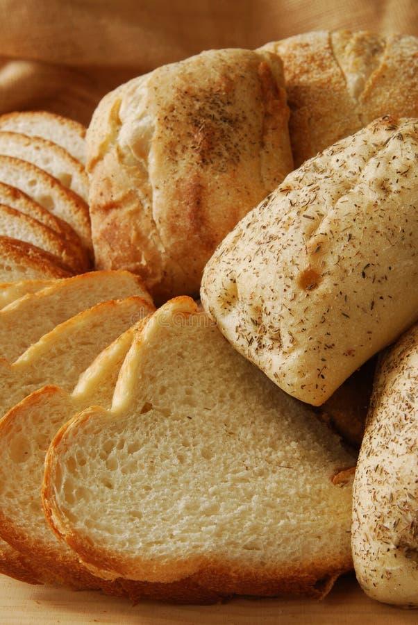 bröd stänger sig upp arkivfoto