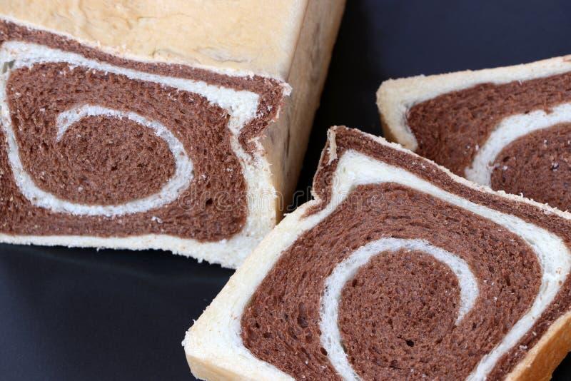 Brödchoklad för två signal royaltyfri foto