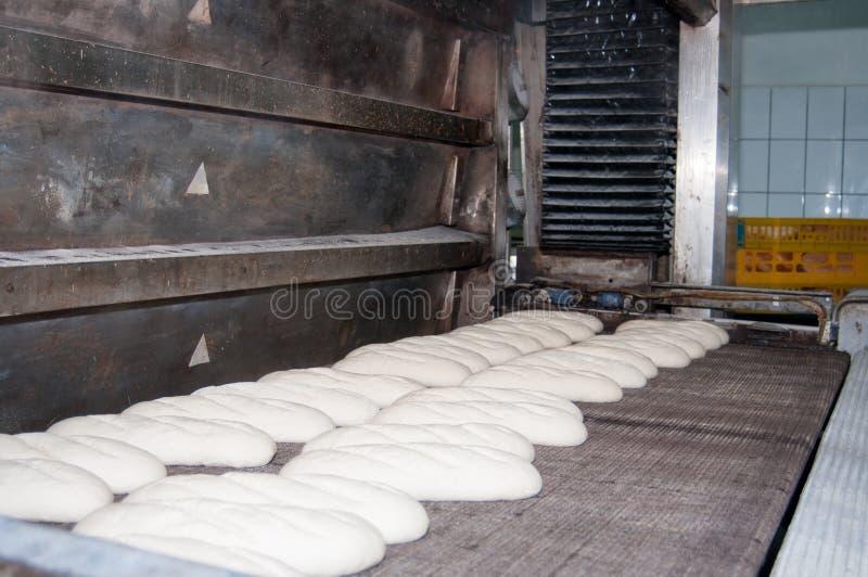 Brödfabriksprocess fotografering för bildbyråer
