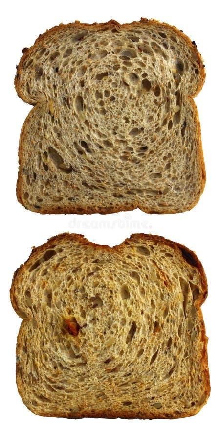 brödskivor royaltyfria foton