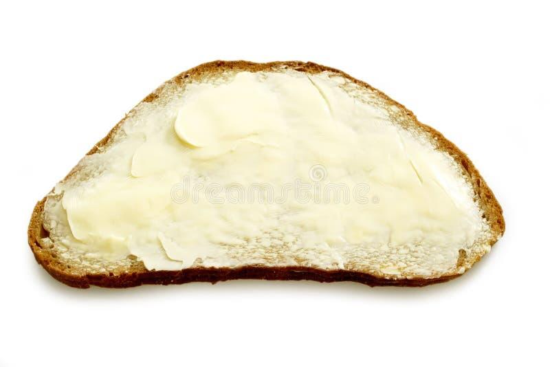 brödsmörwholemeal arkivbild