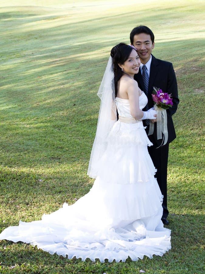 bröllop för 5 par arkivfoton