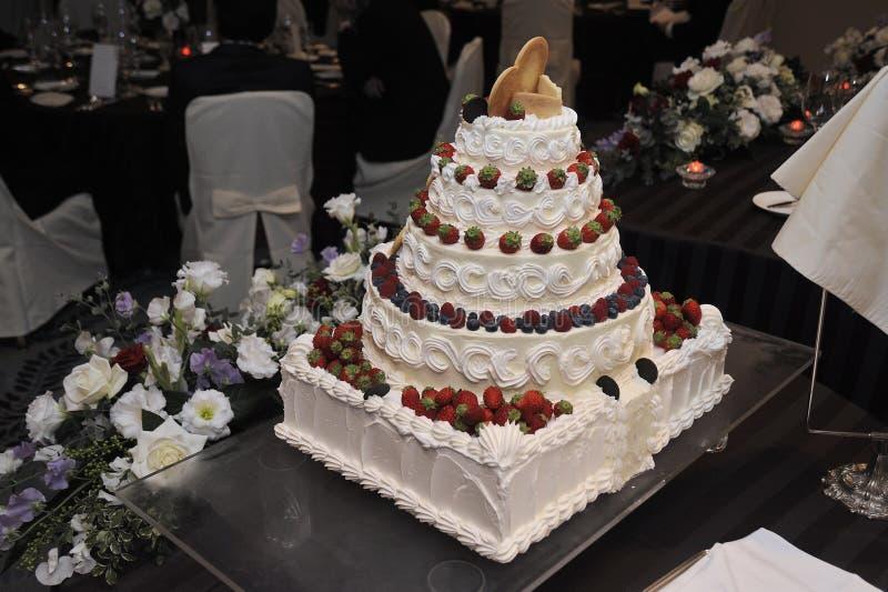 bröllop för 8 pie royaltyfri bild