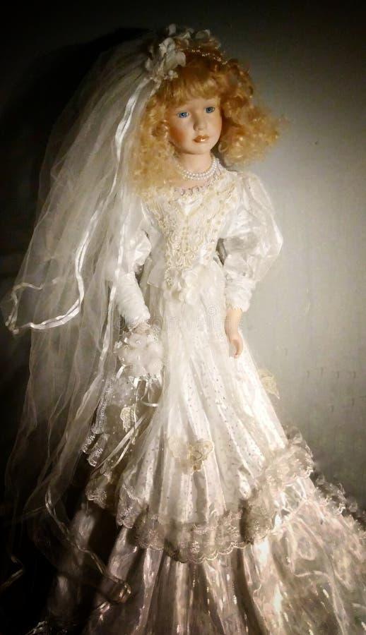 bröllop för tappning för klädpardag lyckligt arkivfoto