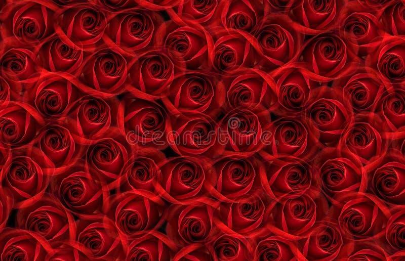bröllop för valentin för ro för bakgrundspetal rose arkivbilder