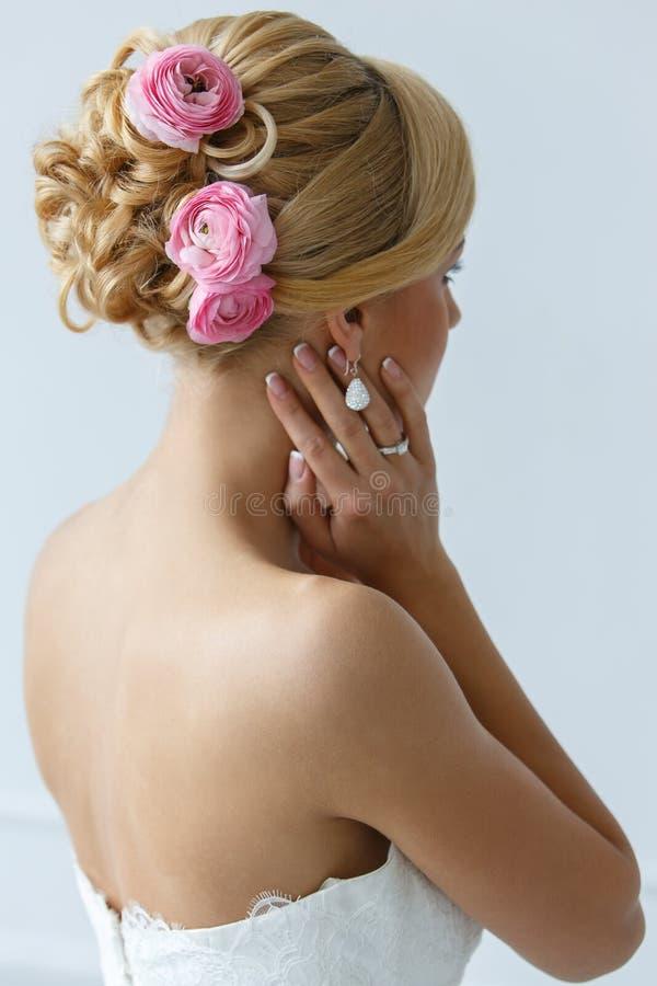 bröllop härlig brud royaltyfri fotografi