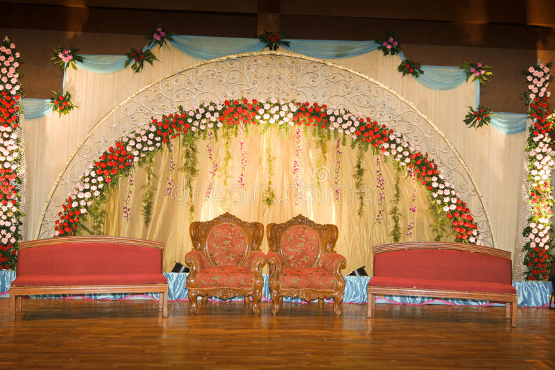 Bröllop stage-02 royaltyfria bilder