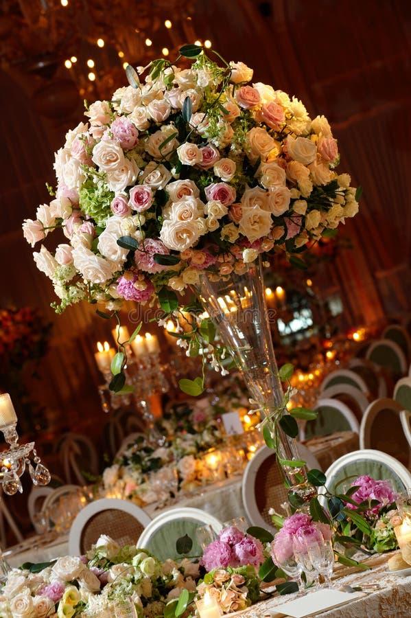 bröllop table2 royaltyfri bild