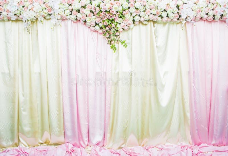 Bröllopbakgrund royaltyfria bilder