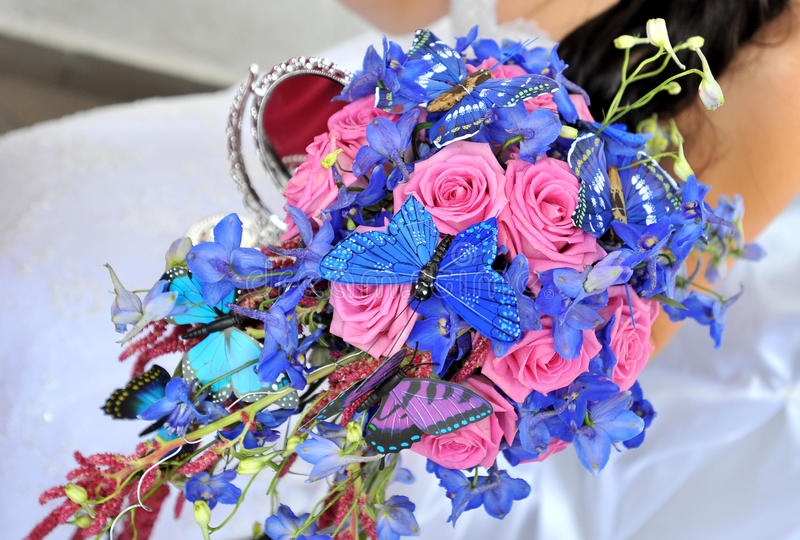 Bröllopblommor royaltyfria bilder