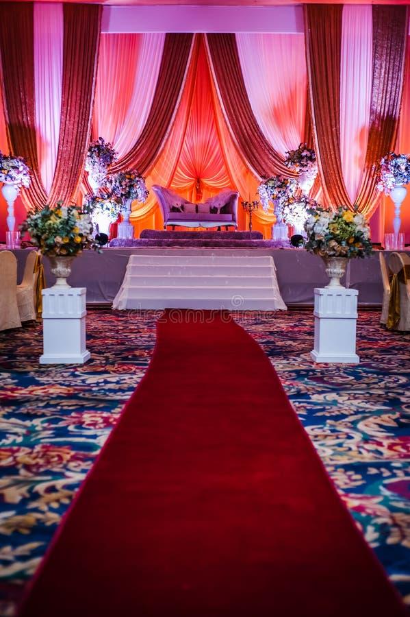 Bröllopgarnering arkivfoton