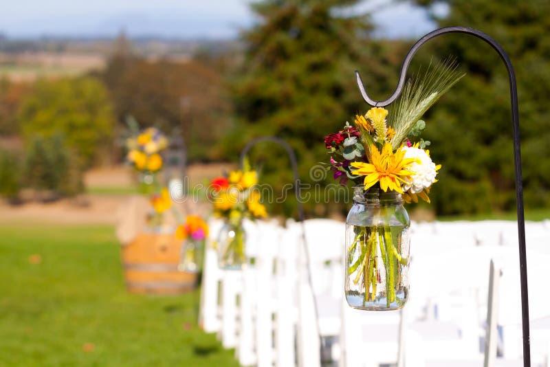 Bröllophöjdpunktdetaljer royaltyfria bilder