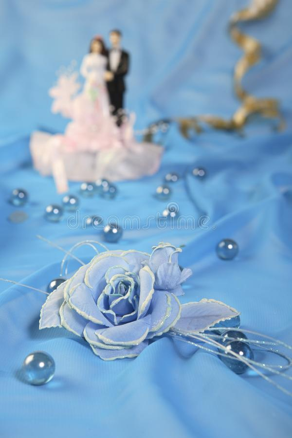 Bröllopstårtadockor, Ro Arkivbild