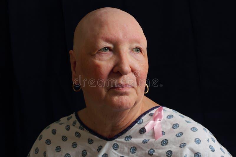 Bröstcanceröverlevande royaltyfria bilder