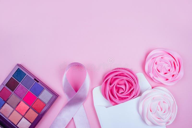 Bröstcancermedvetenhetmånad royaltyfria bilder