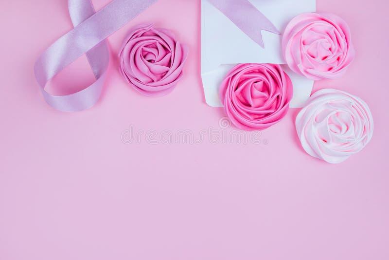 Bröstcancermedvetenhetmånad arkivfoton