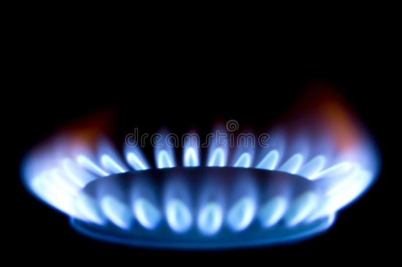 Brûleur à gaz images libres de droits