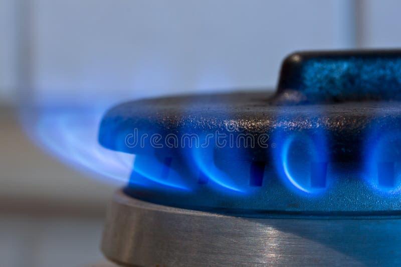 Brûleur à gaz image libre de droits