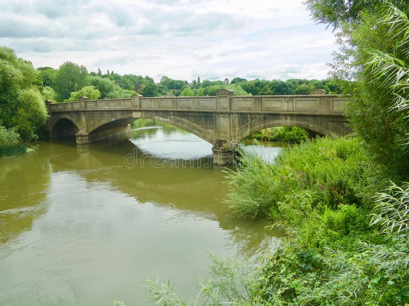 Brücke über Avon stockbilder