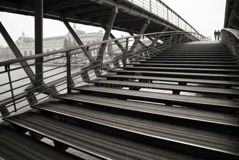 Brücke über Seine-Fluss, Paris lizenzfreie stockfotografie