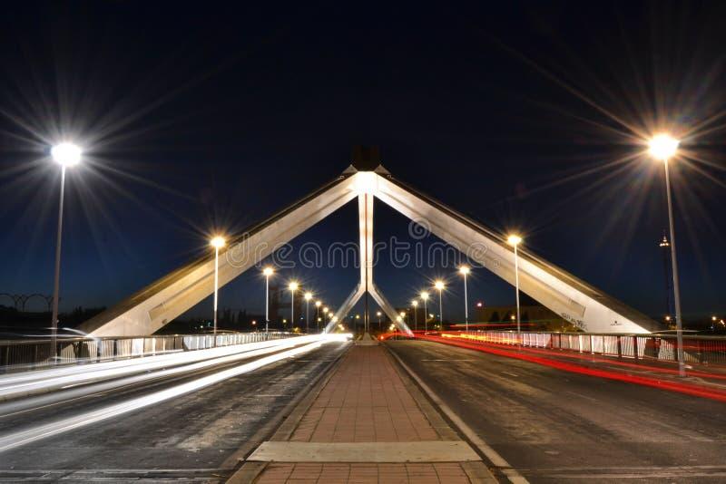 Brücke Barqueta s in Sevilla lizenzfreie stockfotografie