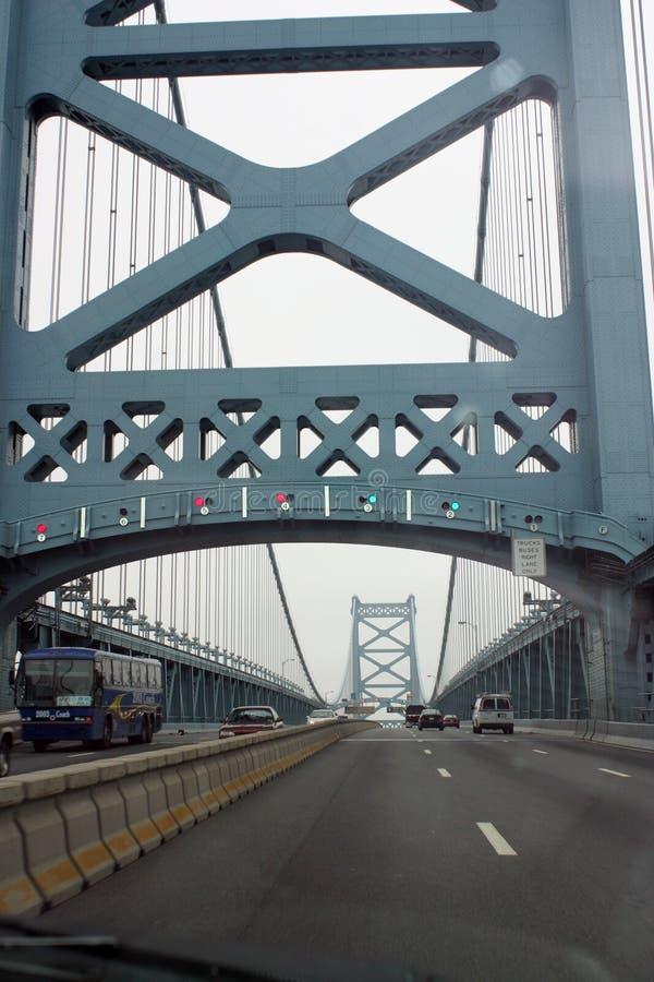 Brücke Ben-Franklin Stockfoto