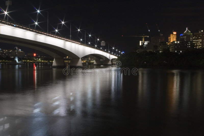 Brücke in Brisbane lizenzfreies stockfoto