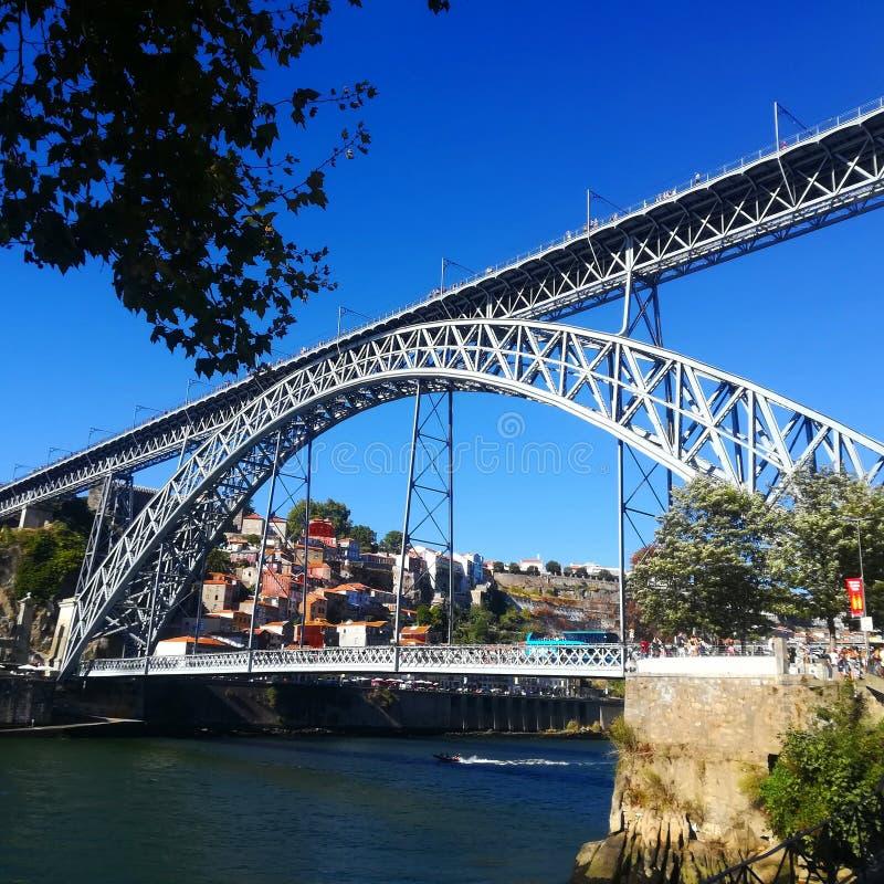 Brücke D Luis stockfoto
