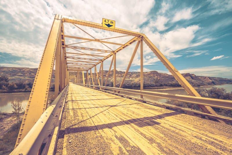 Brücke in den Ödländern lizenzfreie stockbilder