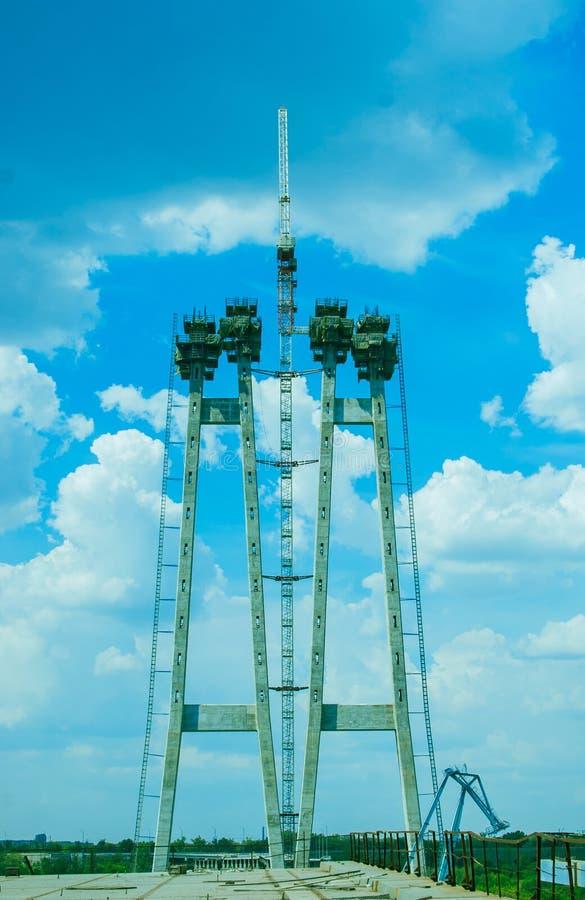 Brücke der Aufhebung-Bridge lizenzfreie stockfotografie