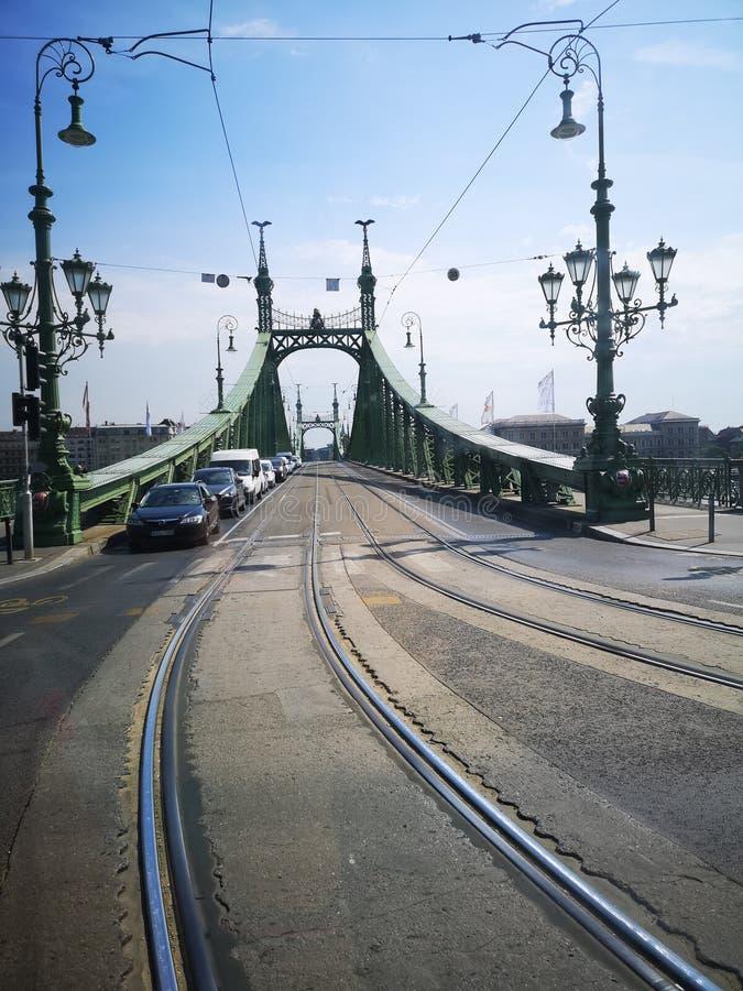 Brücke der Freiheit stockbild