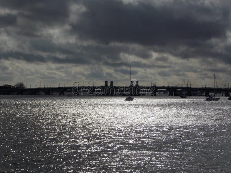 Brücke der Löwen Florida lizenzfreies stockfoto