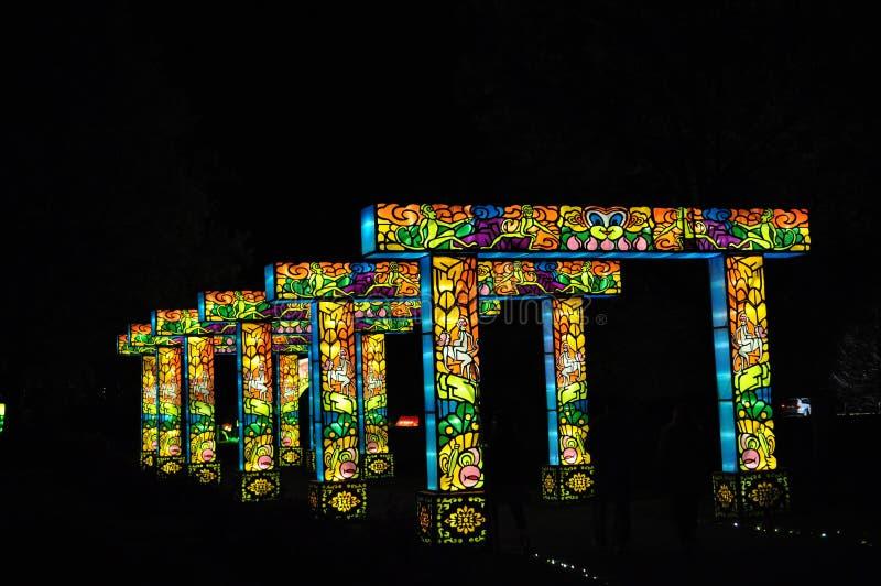 Brücke der Leuchte lizenzfreie stockfotos