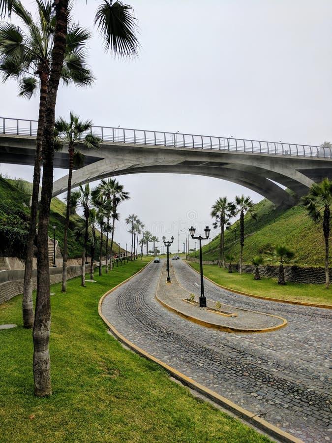 Brücke der Straße lizenzfreie stockfotografie
