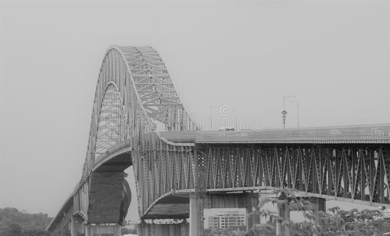 Brücke des Amerikas Panama lizenzfreie stockbilder