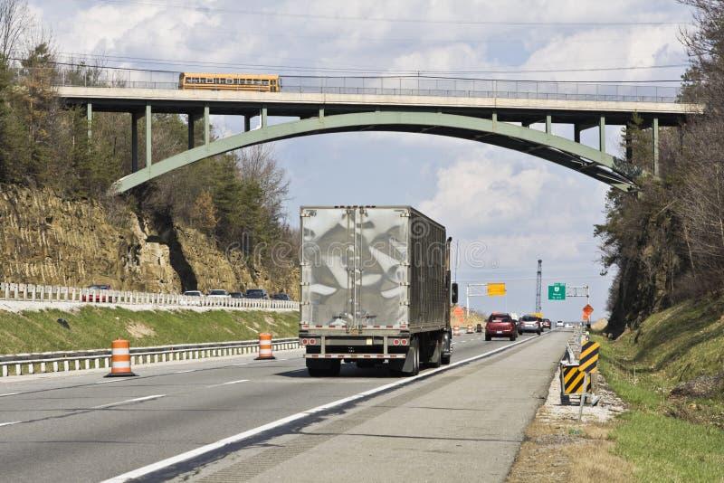 Brücke im Cuyahoga Tal lizenzfreie stockbilder