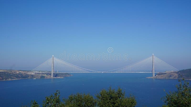 Brücke in Istanbul stockfotografie